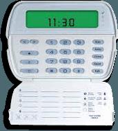 DSC keypad