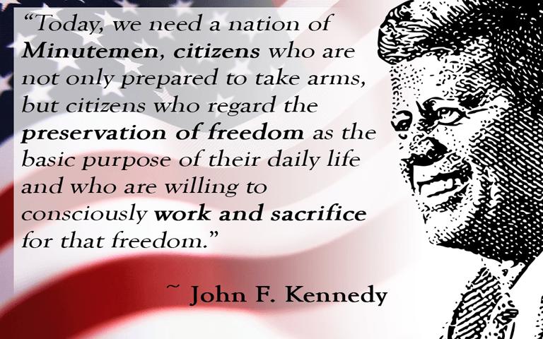 JFK Minutuemen Meme