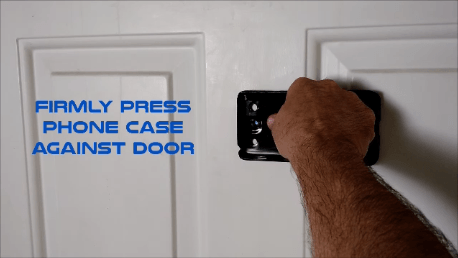 Cell phone peephole hack press firm